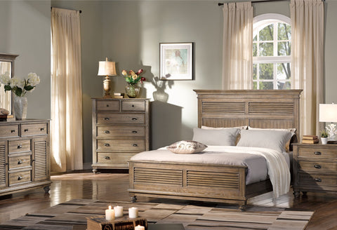 Lakeport Pewter Bedroom Collection