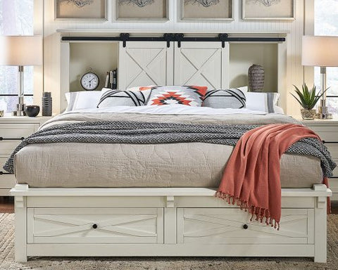 Sun Valley White Bedroom Collection