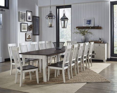 Toluca White Dining Collection