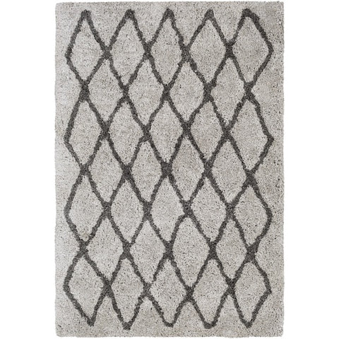 Koryak Gray + Black Shag Rug [Discontinued]