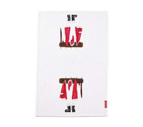 Santa's Home Hand Towel