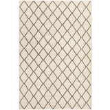Whistler Charcoal + Cream Pattern Rug