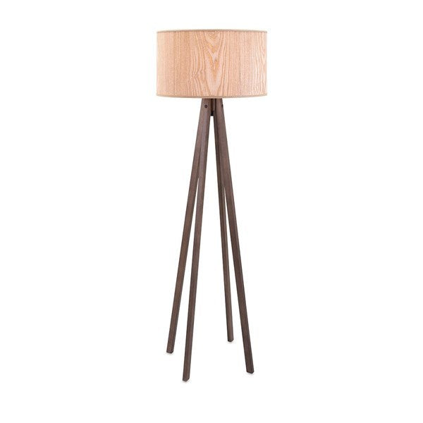 Meridian Wood Floor Lamp