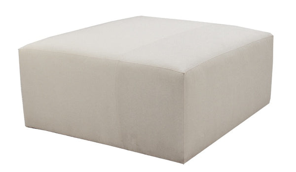Quinn Solid Top Square Ottoman