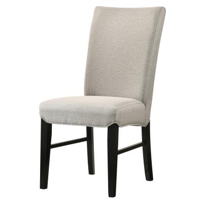 Levi Light Gray Upholstered Dining Chair