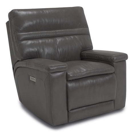 Leo Wallhugger Power Recliner With Power Lumbar