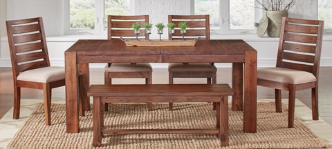Anacortes Mahogany Dining Set