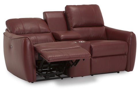 Arlo Manual Reclining Loveseat With Console