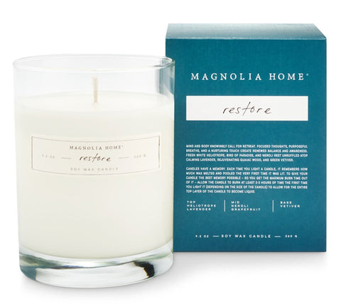 Magnolia Home by Joanna Gaines - Boxed Restore Candle