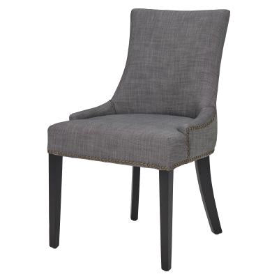 Charlotte Gray Upholstered Dining Chair