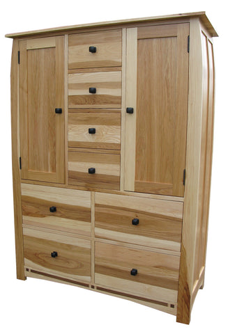 Adamstown Hickory + Walnut Door Chest