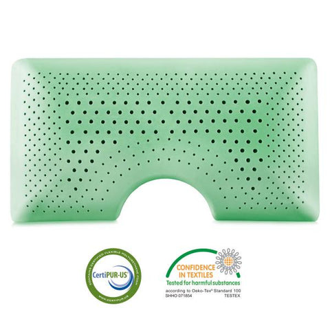 Peppermint Infused Shoulder Cutout Memory Foam Pillow