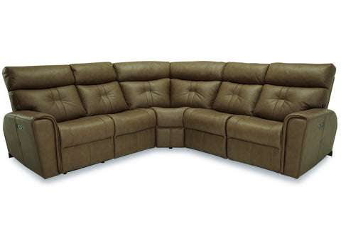 Acacia Power Reclining Sectional w/ Power Headrests