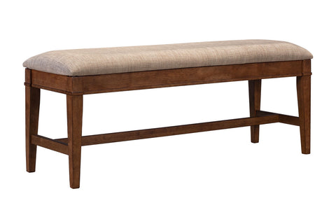 Blue Mountain Upholstered Bench