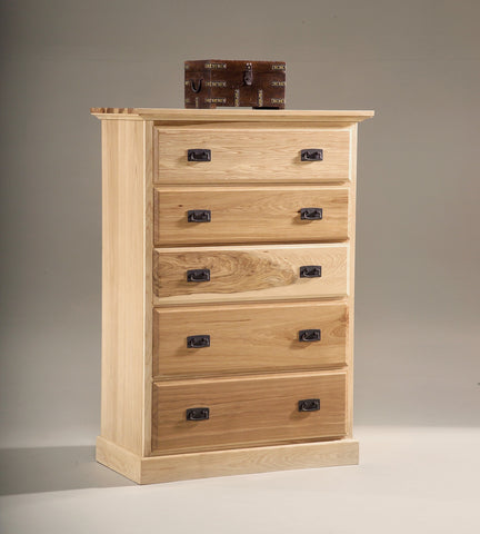 Amish Highlands 5 Drawer Chest