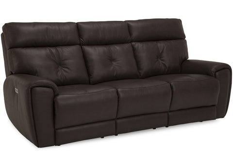 Aedon Power Reclining Sofa With Power Headrest