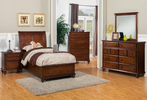 Spring Creek Tobacco Full Storage Bed