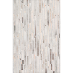 Medora Light Gray Hair On Hide Rug