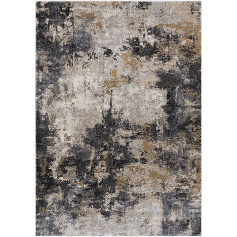 Pune Gray + Tan Area Rug
