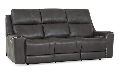Hastings Power Reclining Sofa With Power Headrest + Lumbar