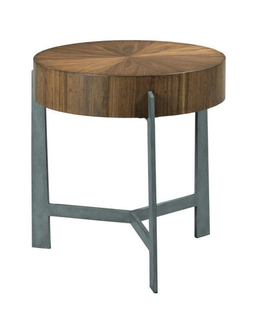 Modern Synergy Framing Round End Table
