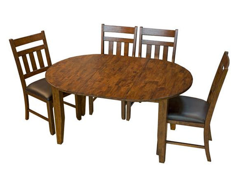 "MASON OVAL DINING TABLE WITH 1 18"" LEAF"