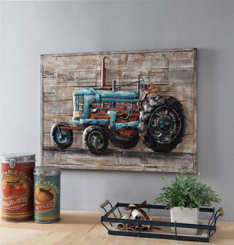 Tractor Dimensional Wall Decor