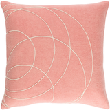 Solid Bold Wool Pink Pillow