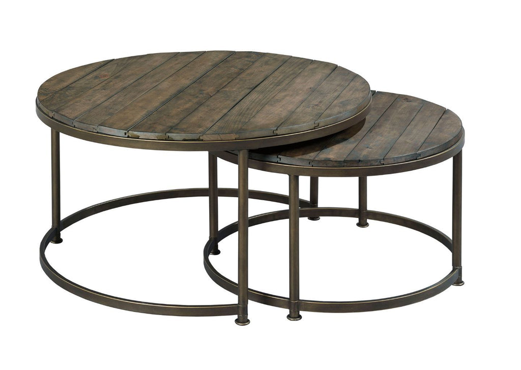 Picture of: Leone Round Nesting Coffee Table Set Sui Generis Home Furniture