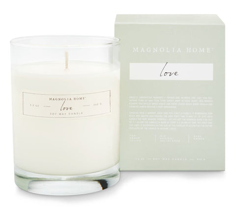 Magnolia Home by Joanna Gaines - Boxed Love Candle
