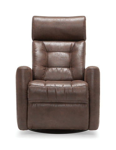 Baltic I Power Swivel Glider Recliner w/ Power Headrest