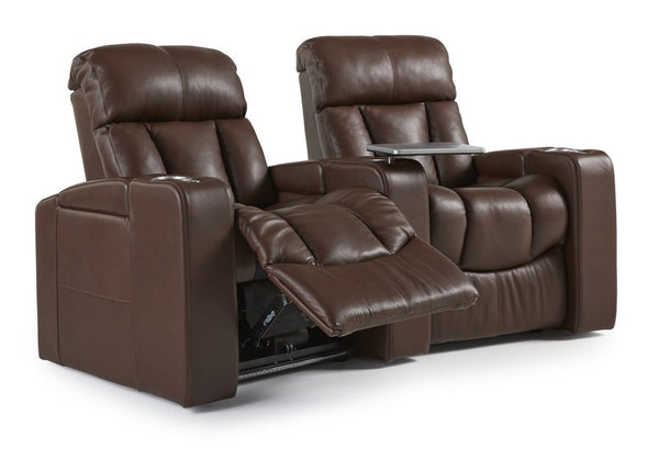 Paragon Home Theater Seating: 2 Seats Curved