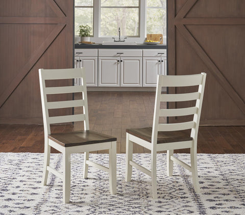 Sun Valley Farm House Ladder Back Dining Chair