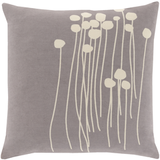 Abo Gray Pillow 22x22