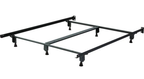 Metal Bed Frame With Gliders