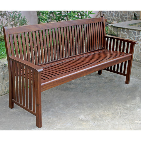 Highland Acacia Denver Bench Oil Stain