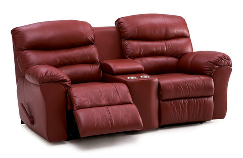 Durant Power Loveseat w/ Console & Cupholder