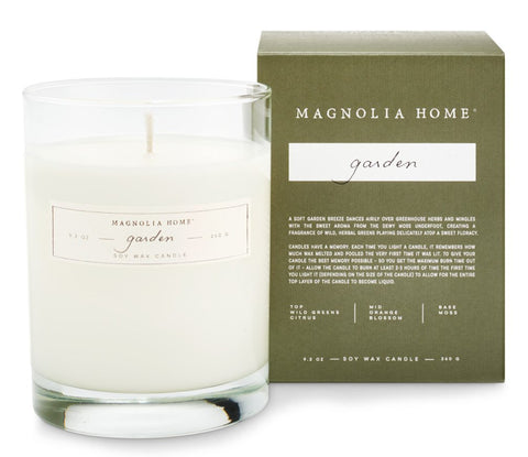 Magnolia Home by Joanna Gaines - Boxed Garden Candle