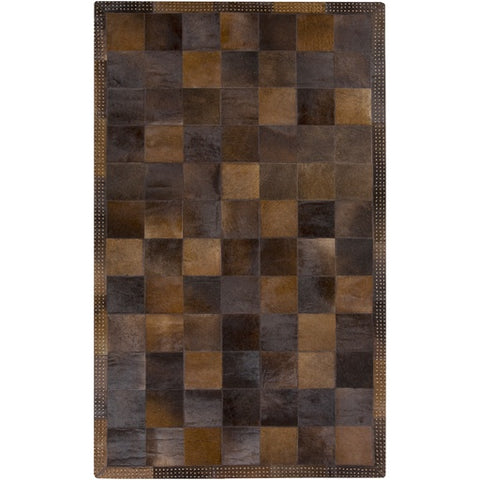Vegas  Brown Metallic Rug