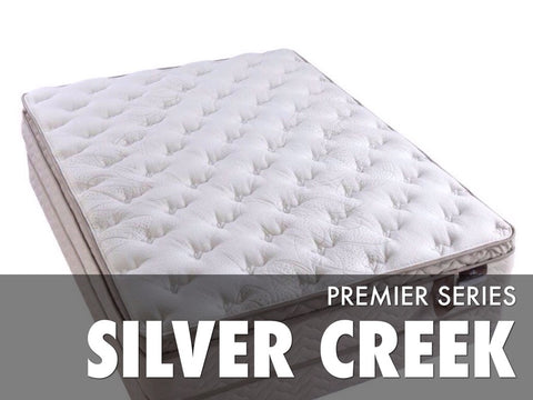 Silver Creek Pillow Top Mattress Set