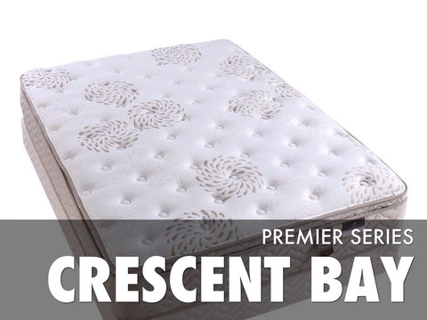 Crescent Bay Pillow Top Mattress Set