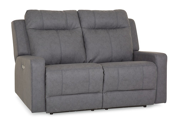 Redwood Power Reclining Loveseat With Power Headrest