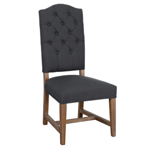 Ava Granite Charcoal Dining Chair