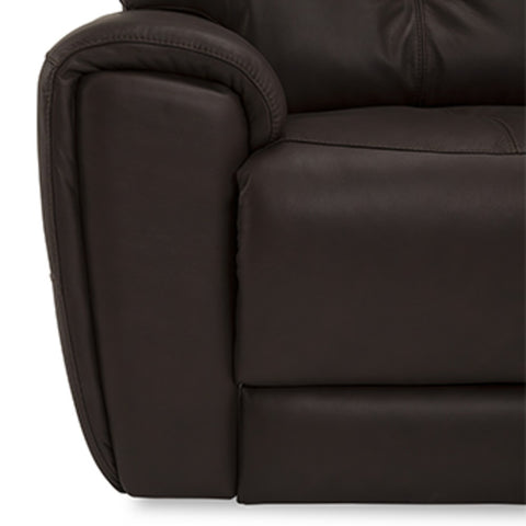 Aedon Power Loveseat w/ Console & Power Headrest & Lumbar
