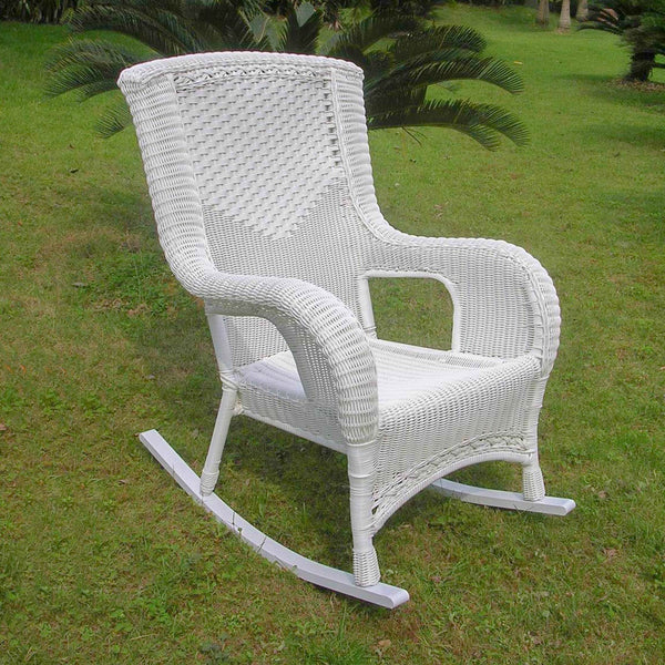 Outdoor Wicker Rocking Chair