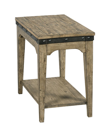 Artisans Chairside End Table - All Natural Finish