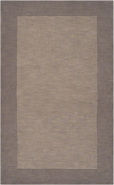 Mystique Gray and Camel Rug