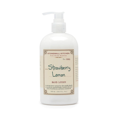 Strawberry Lemon Hand Lotion