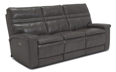 Leo Power Reclining Loveseat With Console With Power Lumbar