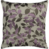 Purple Leaves Pillow Wind Chime 22x22